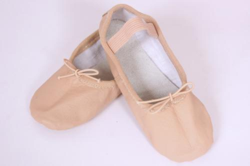 Ballet Shoe Adult - Full sole leather