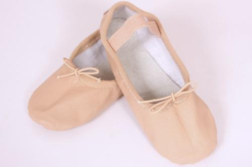 Ballet Shoe Child - Full sole leather