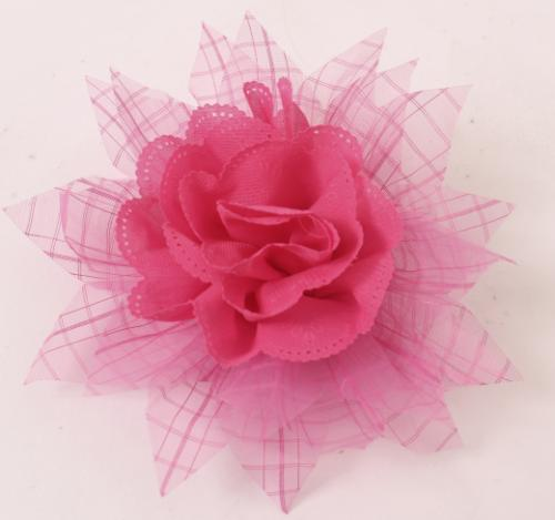 Flower 2 Fabric Pink